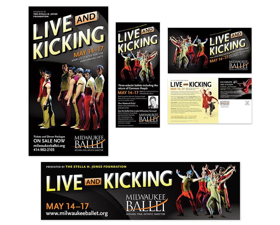 Milwaukee Ballet Live and Kicking