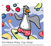 DQ Mister Misty Cup Wrap